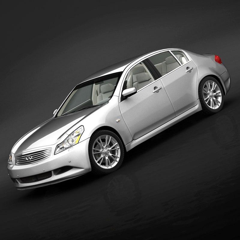 Infiniti G37 S For Sale: Infiniti G37 Sedan 2009 3d Model