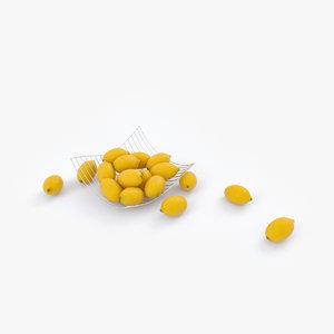 fruit bowl lemons max