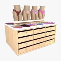3d model panty table