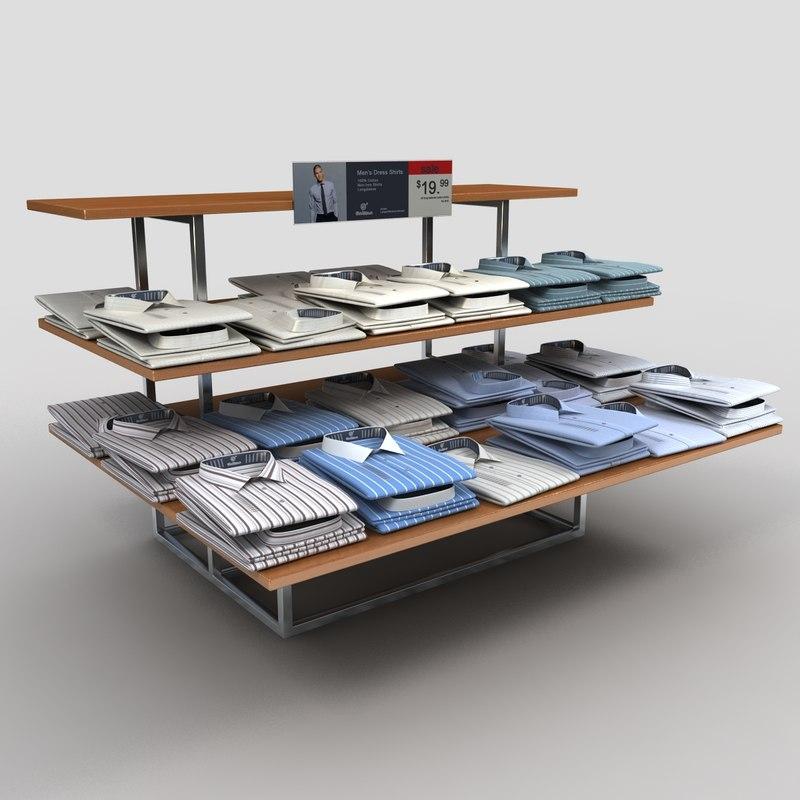 dress shirt table 1 3ds