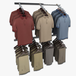 3ds khaki pants wall