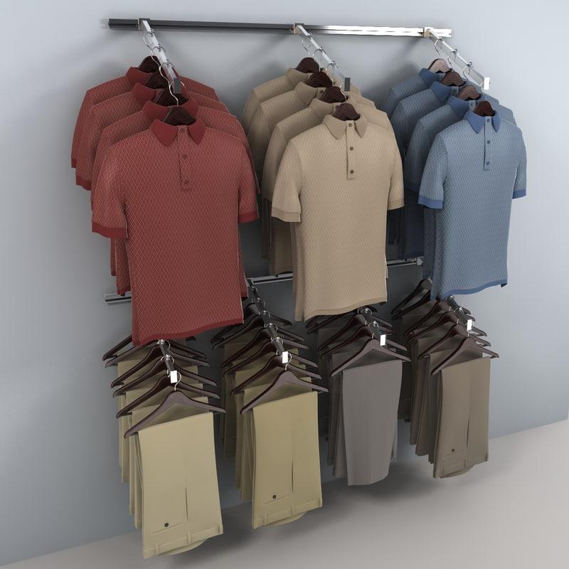3ds khaki pants wall