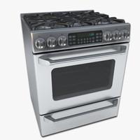 max gas range oven