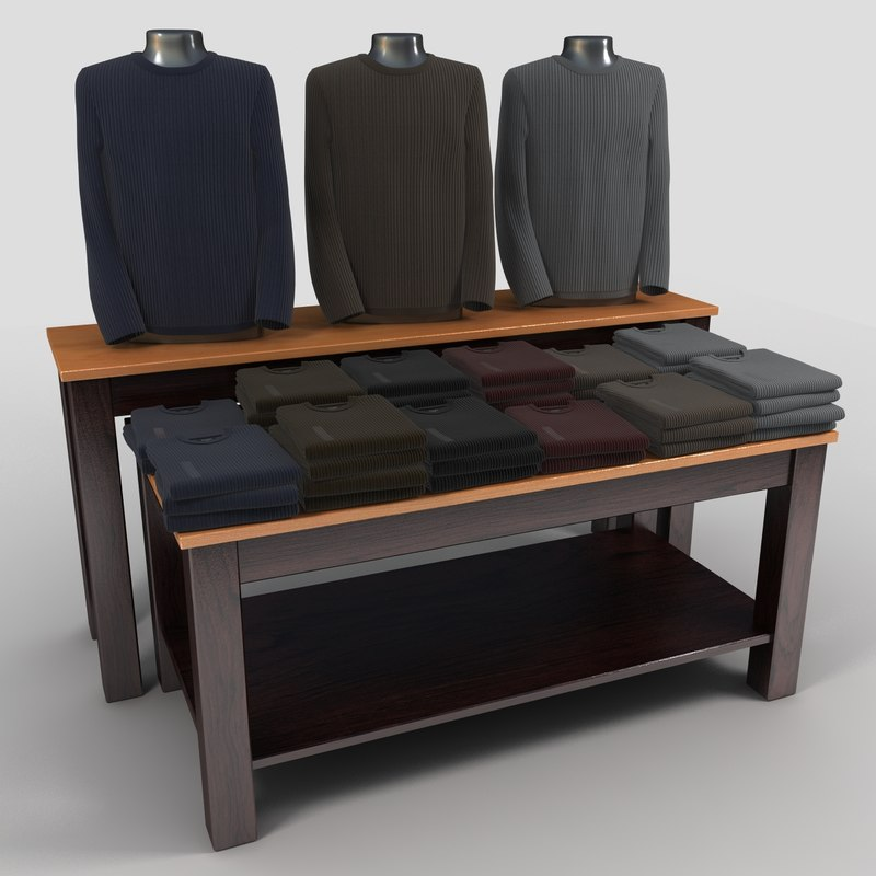 3ds max sweater table