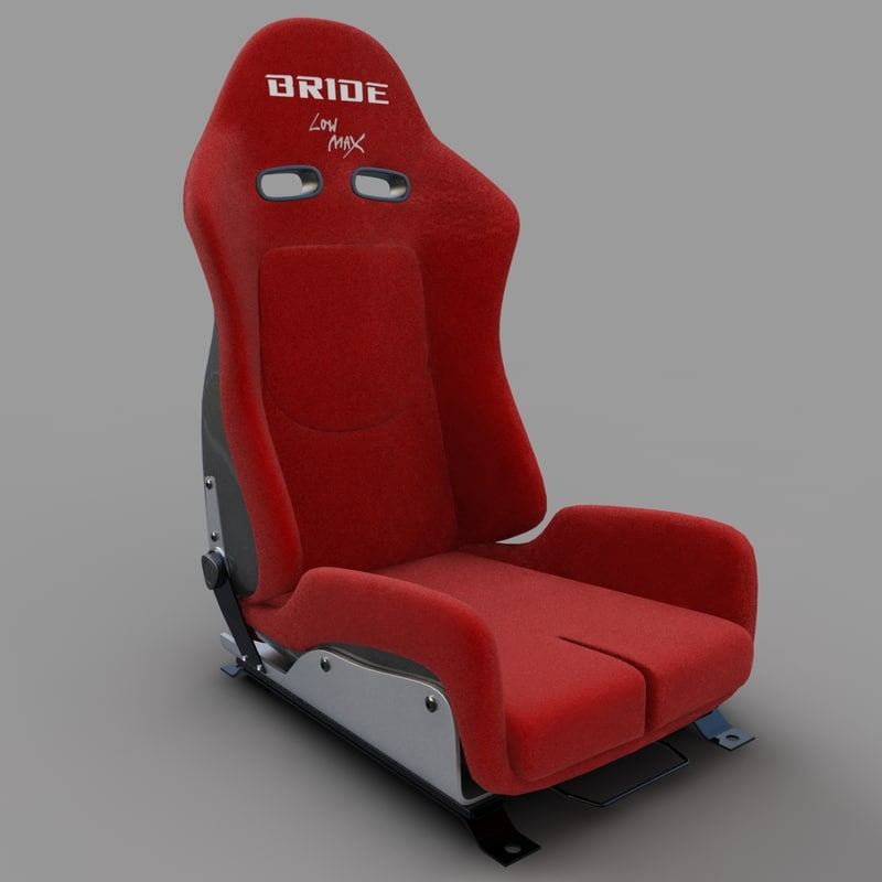 3ds max racing seat