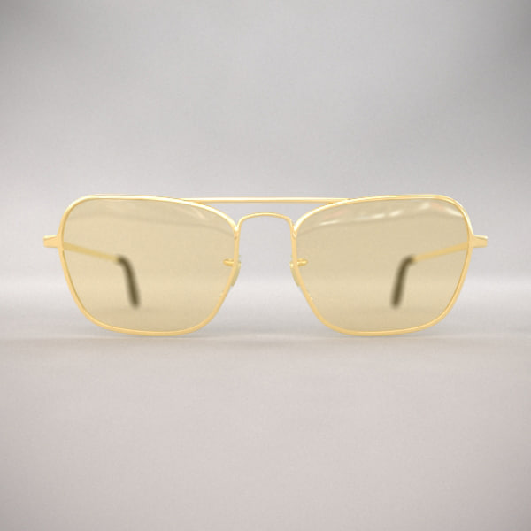 glass sun sunglasses 3d model