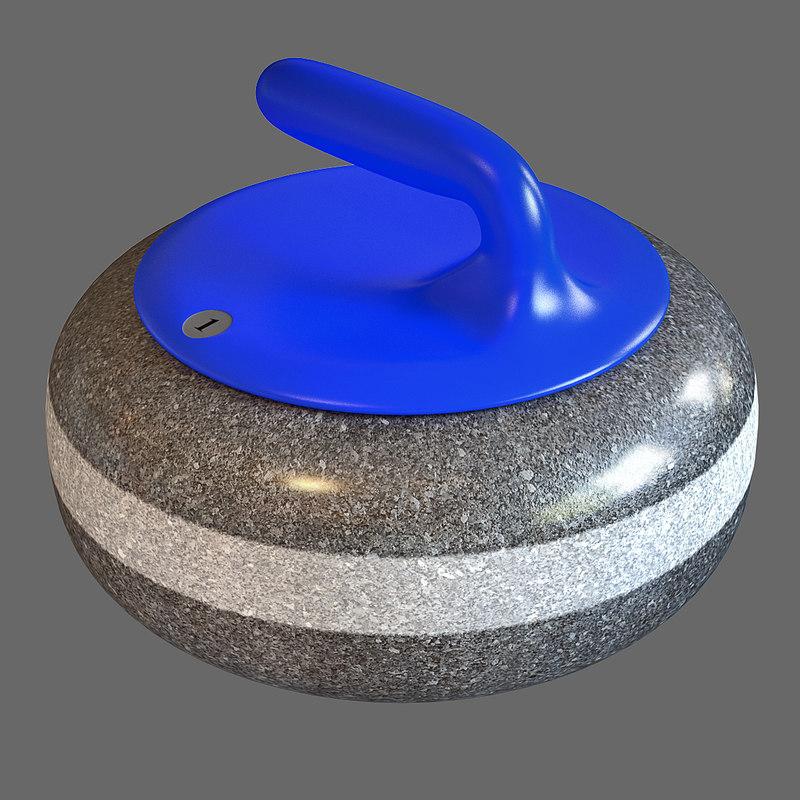 lwo curling stone