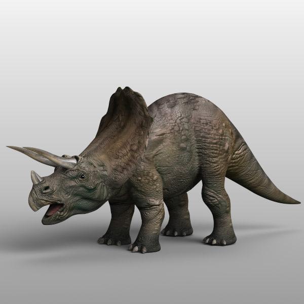 triceratops dinosaur xsi
