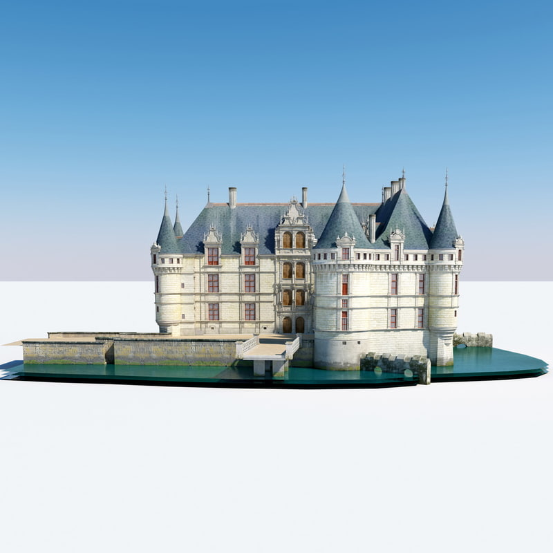 Castle Azay le Rideau France