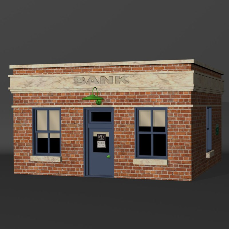 3ds max bank
