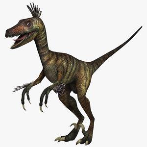 3ds velociraptor raptor