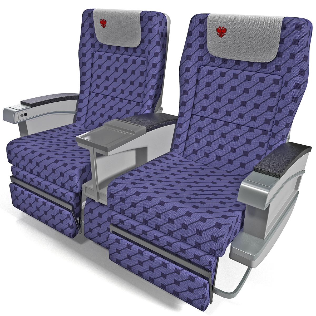 aircraft passenger seats 4 3ds