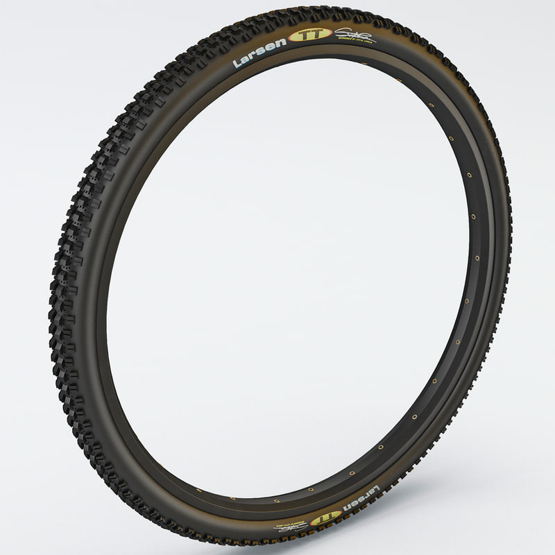 3ds max bike tire