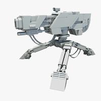 Sci-Fi Sentry Gun