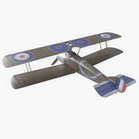Sopwith Camel WW1 Airplane 1