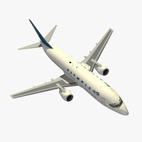 3d model b 737-400 olimpic