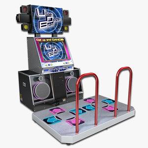 3d arcade dance model