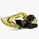 dragline excavator 3D models