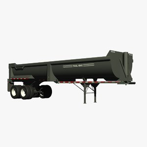 lightwave rear end dump trailer
