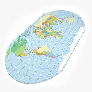 3dsmax geopolitical world