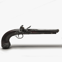 musket pistol 3D models