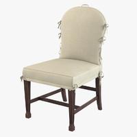 chelini 2063 chair 3d model