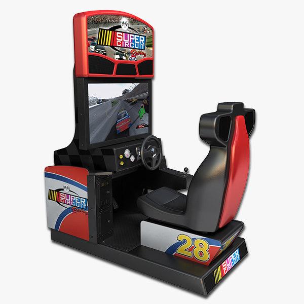 arcade racing 3d model