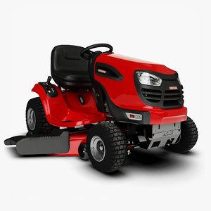 3d motorized lawnmower