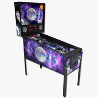 pinball machine 3d max