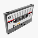 Cassette 3D models