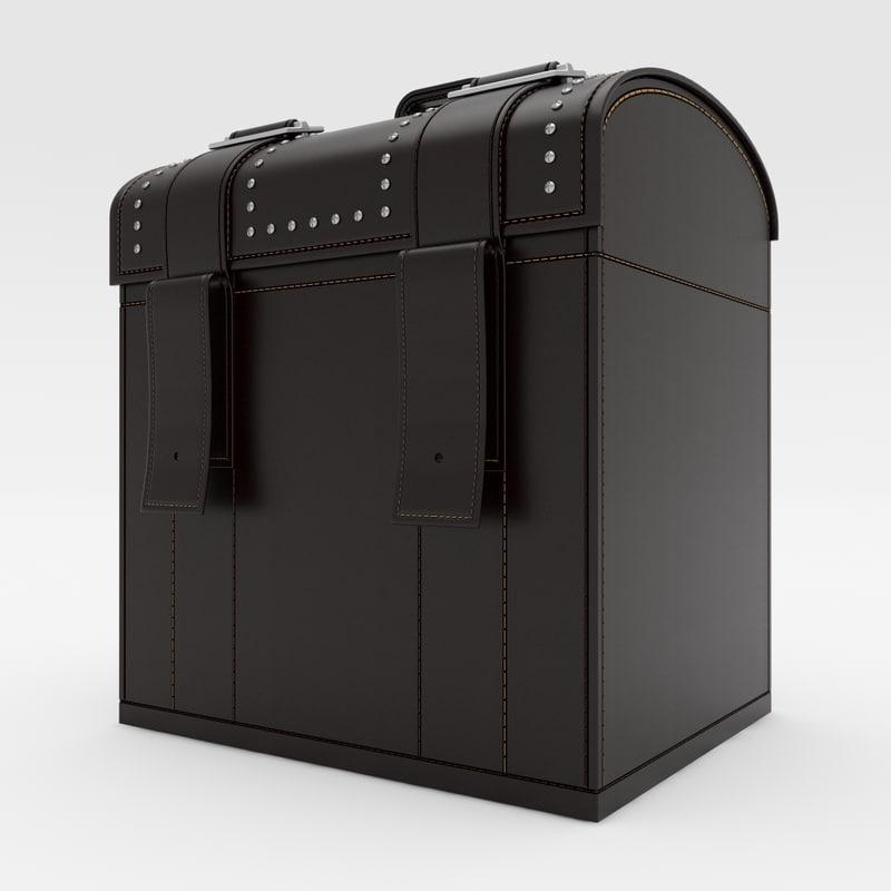 3dsmax leather box