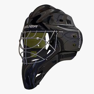 3d ice hockey mask