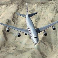 3ds boeing 747-800 qatar 747