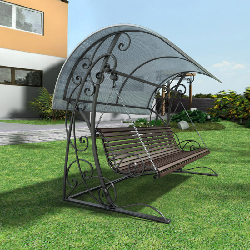 3d max swing bench