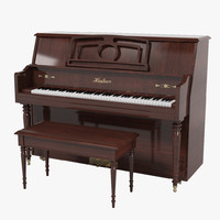 piano classic 3d max