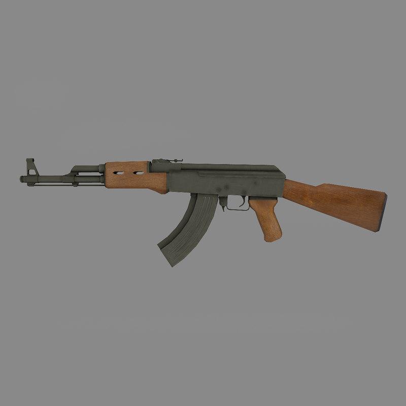 rifle 3d ma
