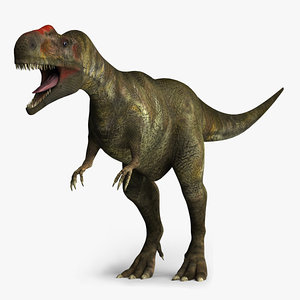 3ds monolophosaurus dinosaurs