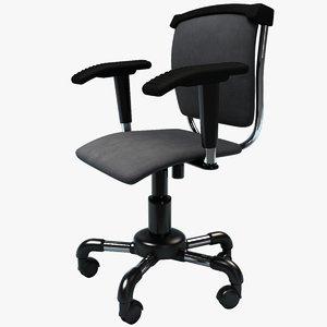 3d office chair - model