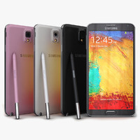 Samsung Galaxy Note 3 All Colors