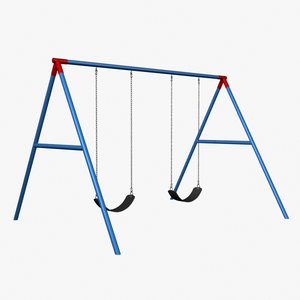 playground swing obj