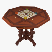 3d model gambling table