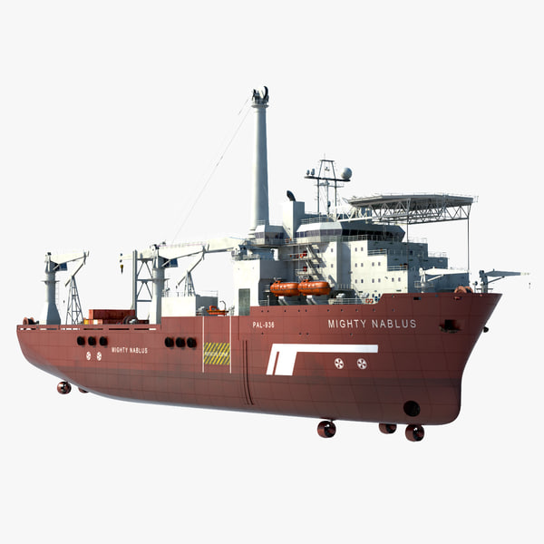 3ds max multipurpose vessel ship use