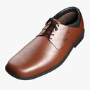 leather shoes 3D models