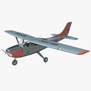 cessna t-41 mescalero 3d model