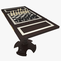 gambling table 3d model