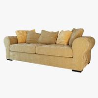 3d sofa fendi massimo