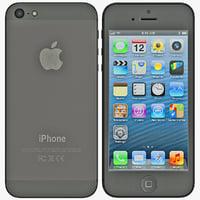 max iphone 5 black