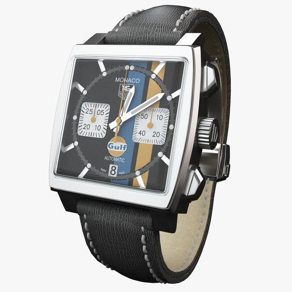 3d watch monaco