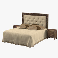 Savio Firmino Classic Bed  with Nightstand
