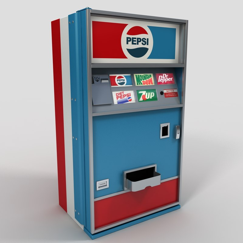 3ds max soda machine